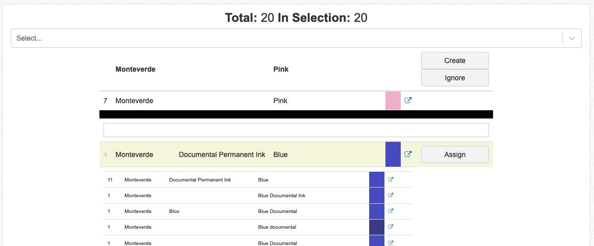 admin interface monteverde pink